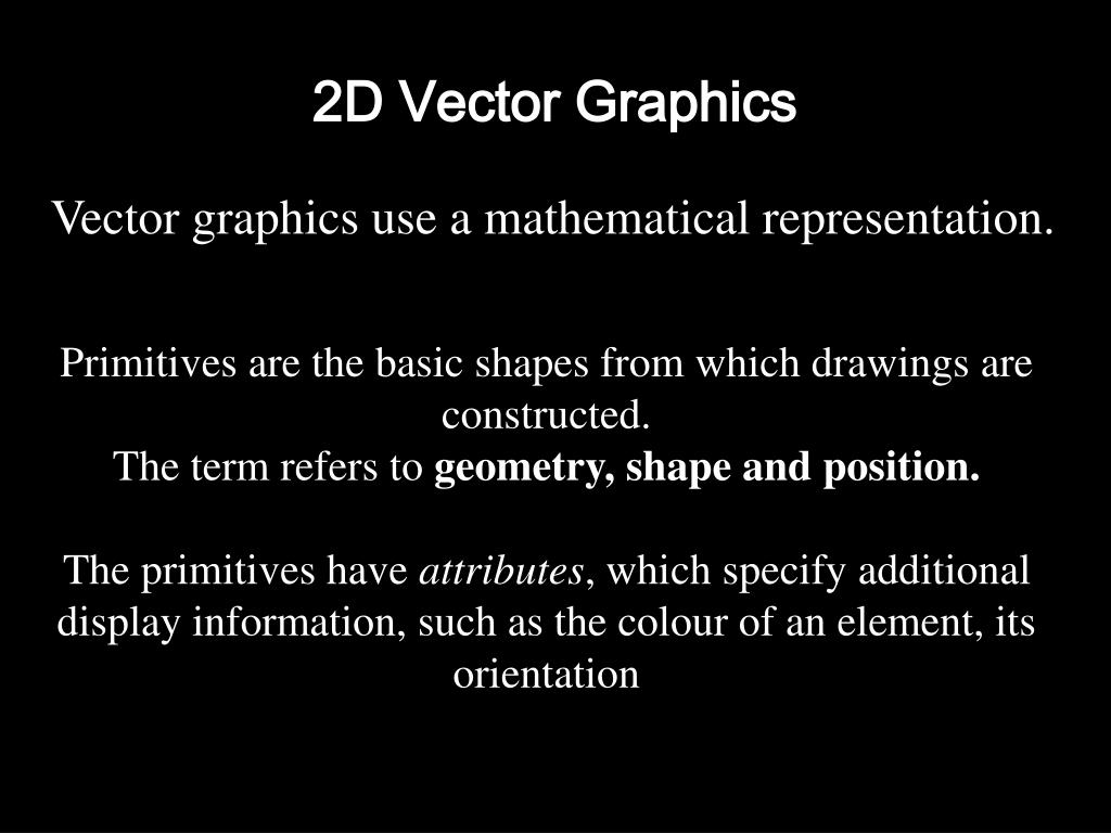 2D Vector Graphics