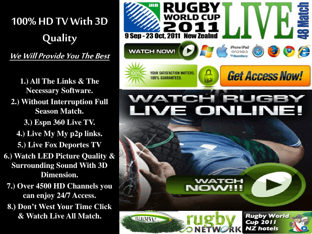 100% HD TV With 3D Quality