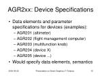 agr2xx device specifications