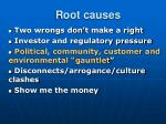 root causes11
