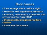 root causes12