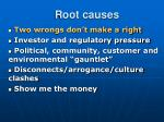 root causes9