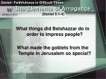 the elements of arrogance