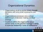 organizational dynamics