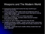 weapons and the modern world10