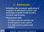 c informatics