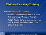 distance learning training16