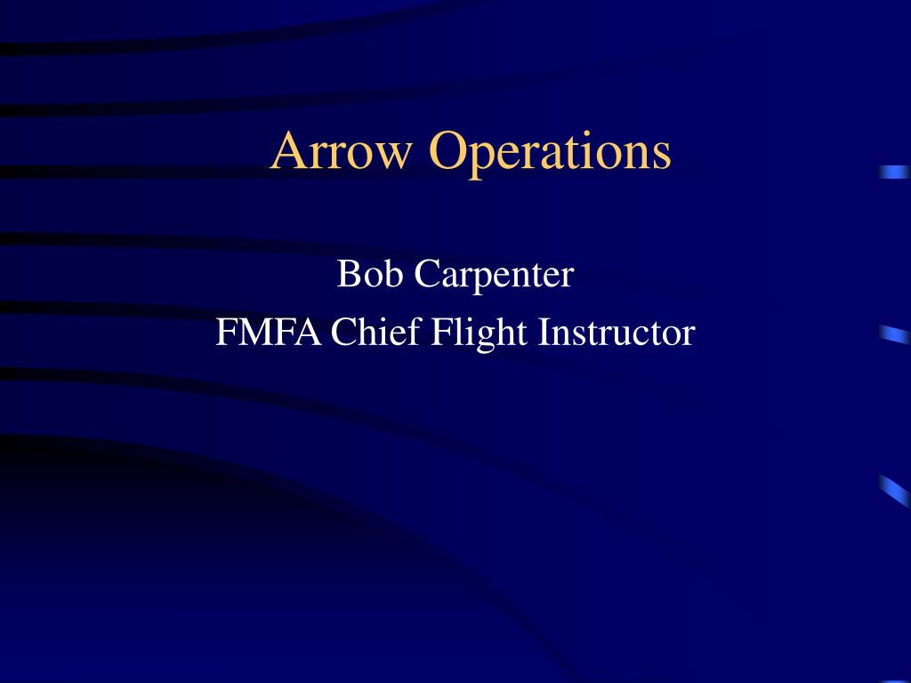 arrow operations l.