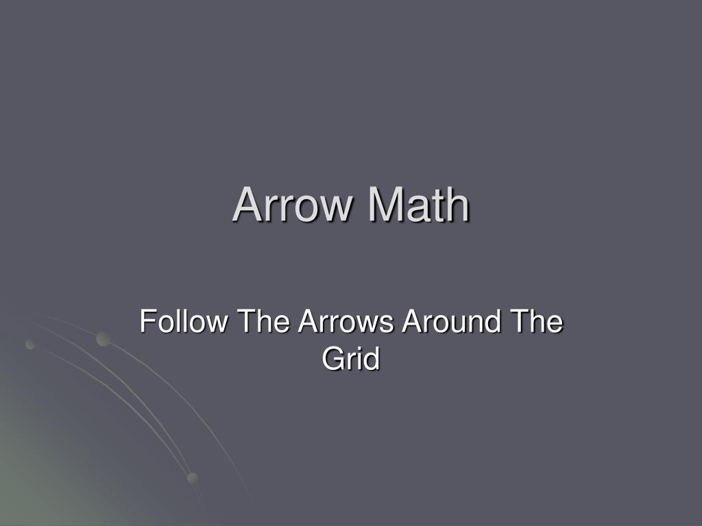 arrow math l.