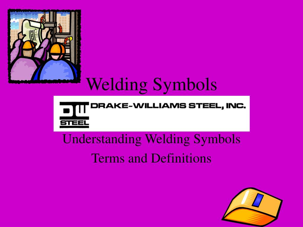 Ppt Welding Symbols Powerpoint Presentation Id175692