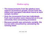 gladius aging20