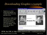 downloading graphics example