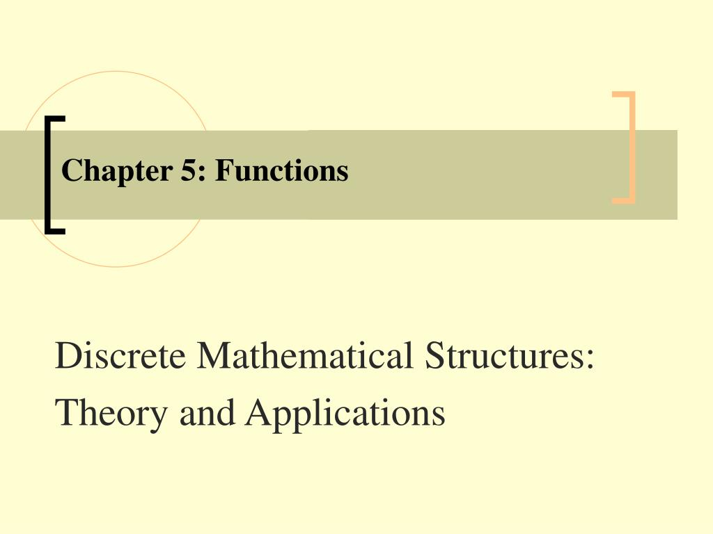 chapter 5 functions l.