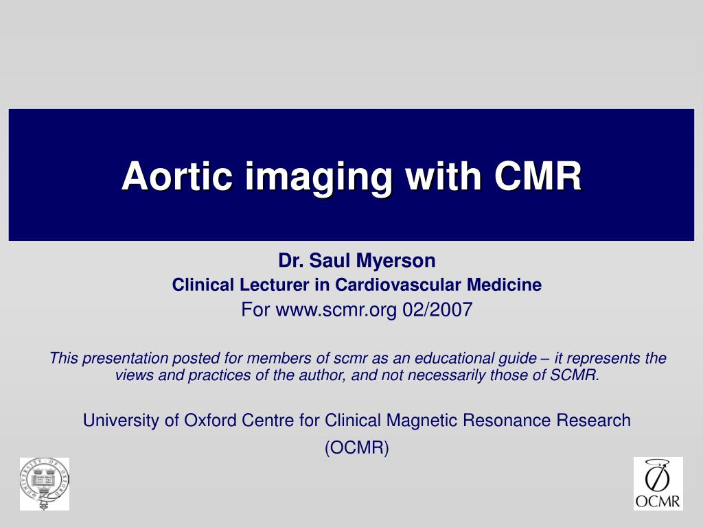 aortic imaging with cmr l.