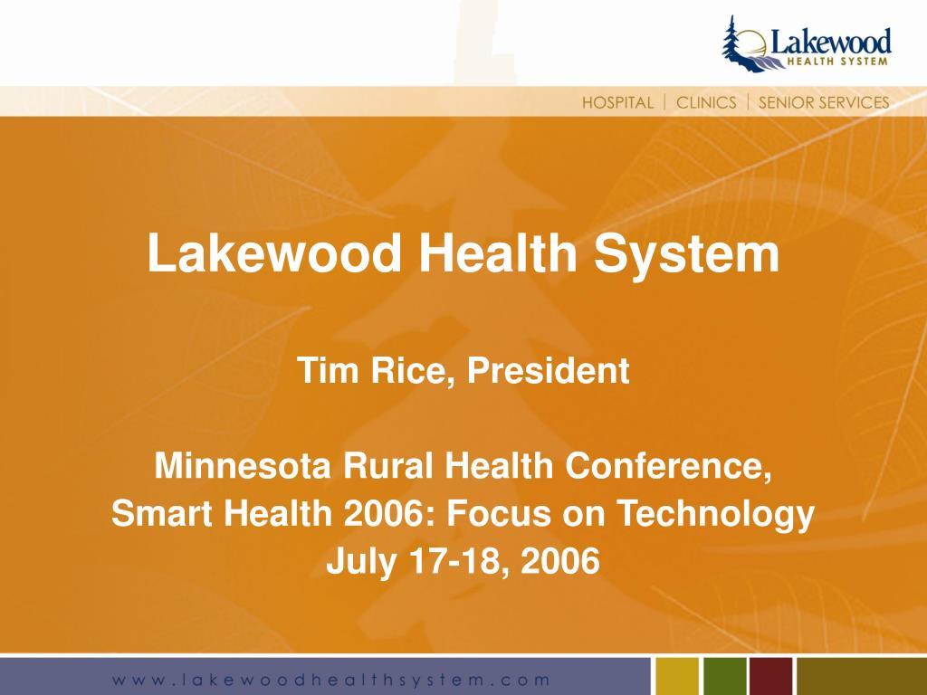 lakewood health system l.