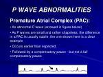 p wave abnormalities24