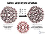 water equilibrium structure17