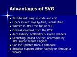 advantages of svg