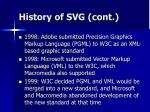 history of svg cont7