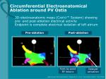 circumferential electroanatomical ablation around pv ostia