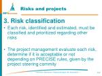 risks and projects127