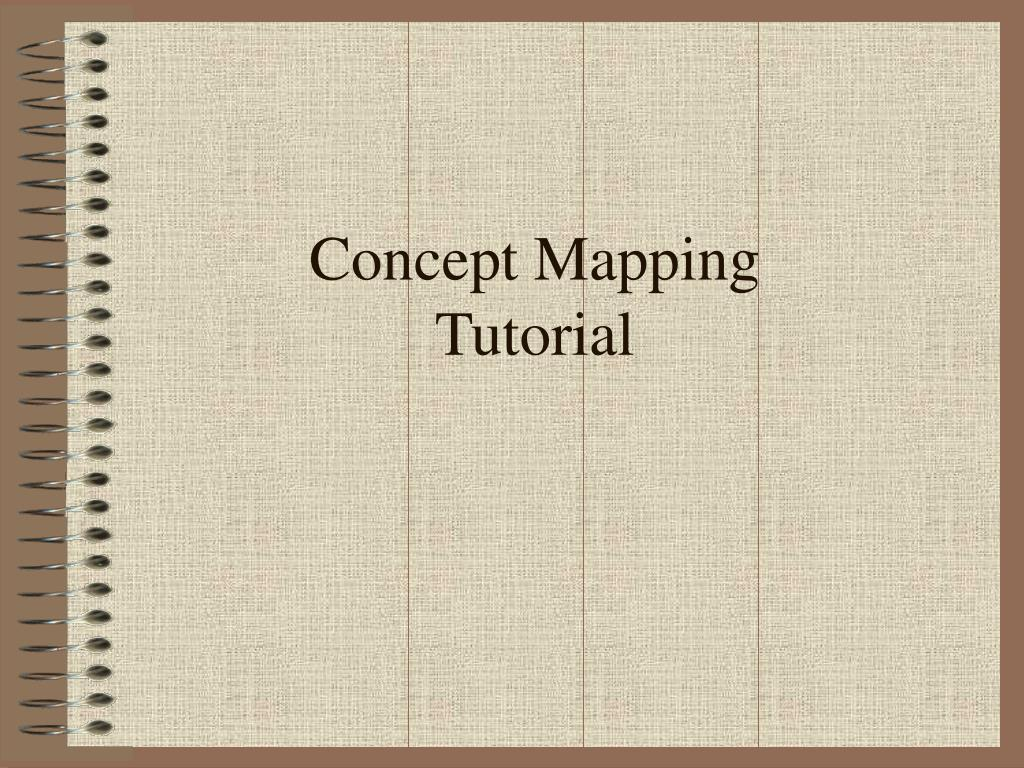 concept mapping tutorial l.