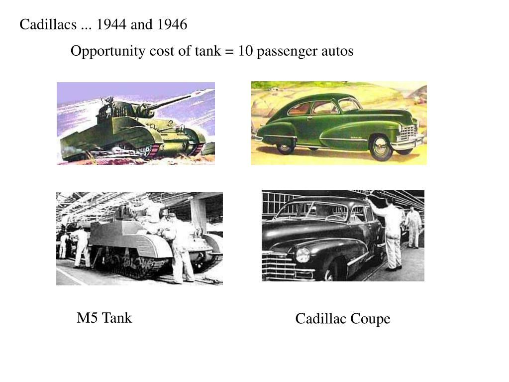 Cadillacs ... 1944 and 1946