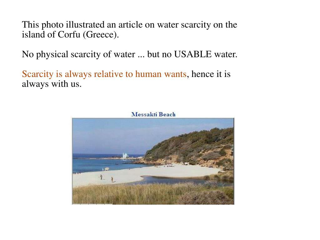 This photo illustrated an article on water scarcity on the island of Corfu (Greece).
