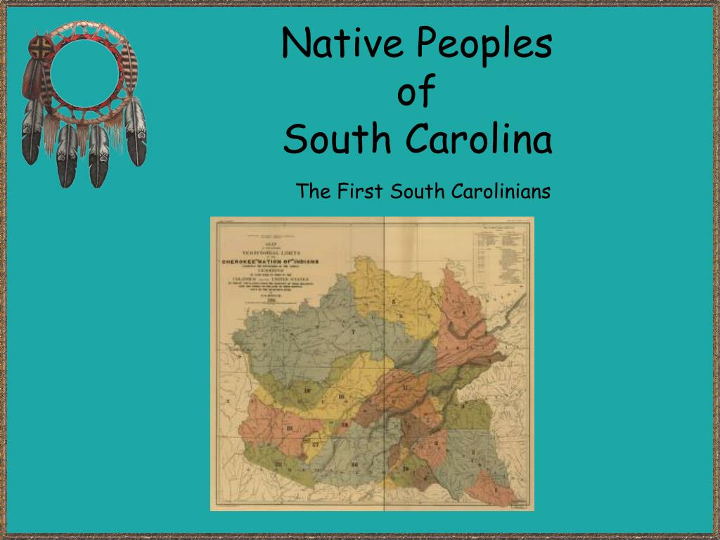 the first south carolinians l.