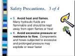 safety precautions 3 of 4