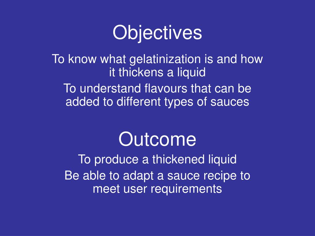 objectives l.
