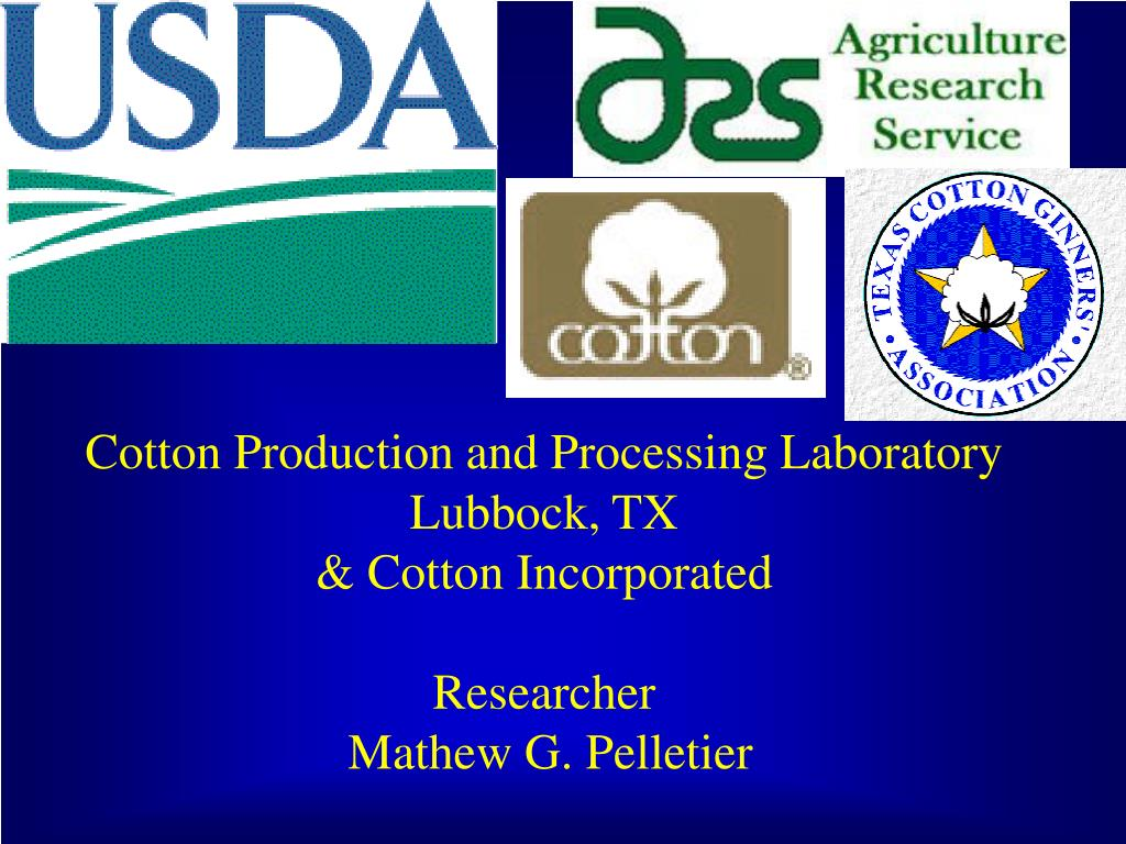 Cotton Production and Processing Laboratory