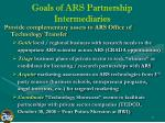 goals of ars partnership intermediaries