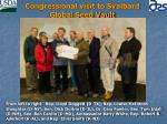 congressional visit to svalbard global seed vault