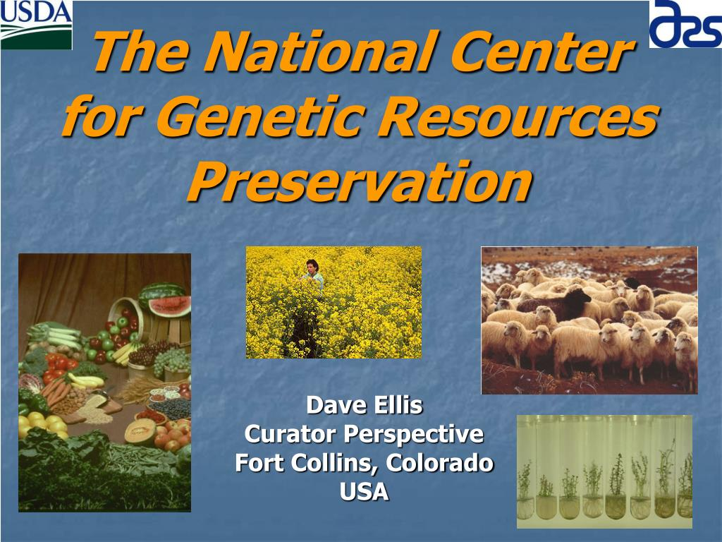 the national center for genetic resources preservation l.