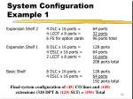 system configuration example 1