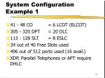 system configuration example 123