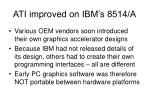 ati improved on ibm s 8514 a