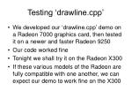 testing drawline cpp