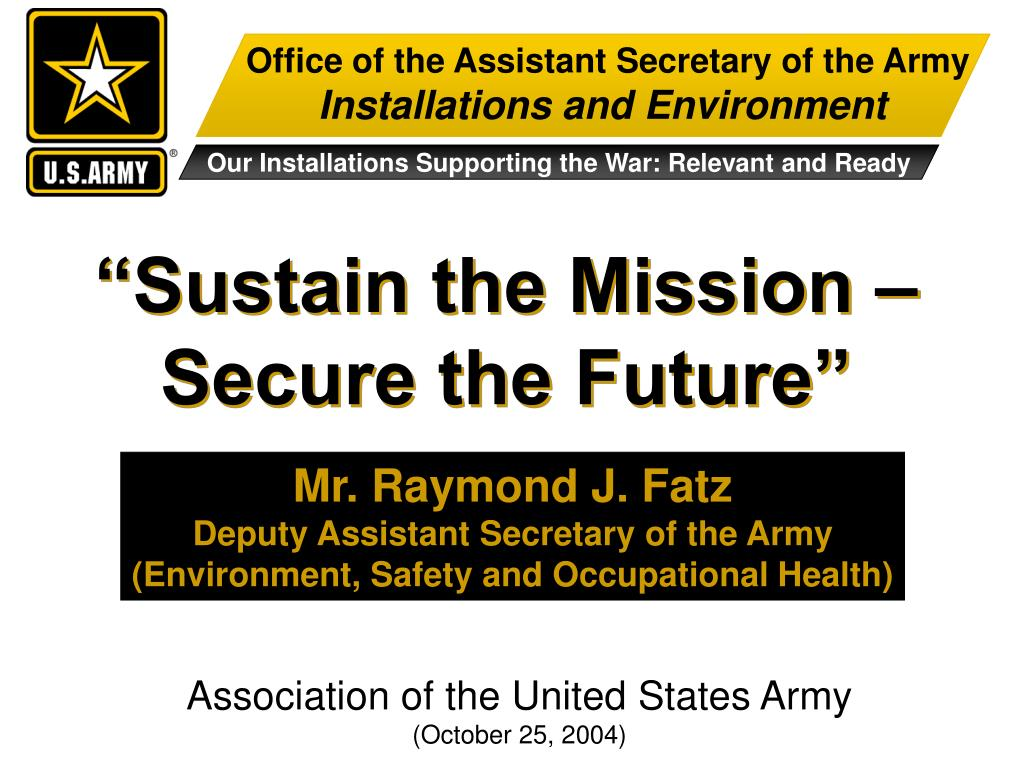 Office of the Assistant Secretary of the Army