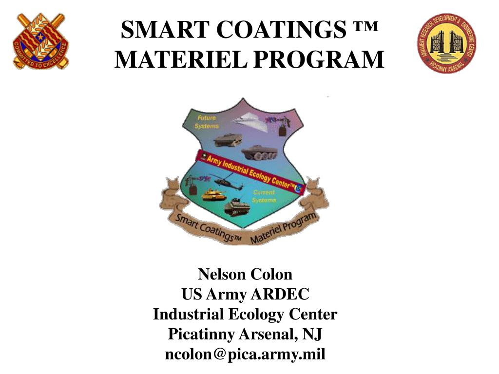 smart coatings materiel program l.