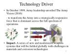 technology driver