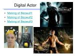 digital actor