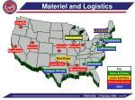 materiel and logistics