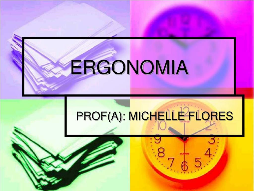 ergonomia l.