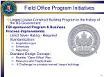 field office program initiatives