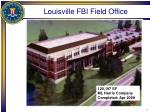 louisville fbi field office