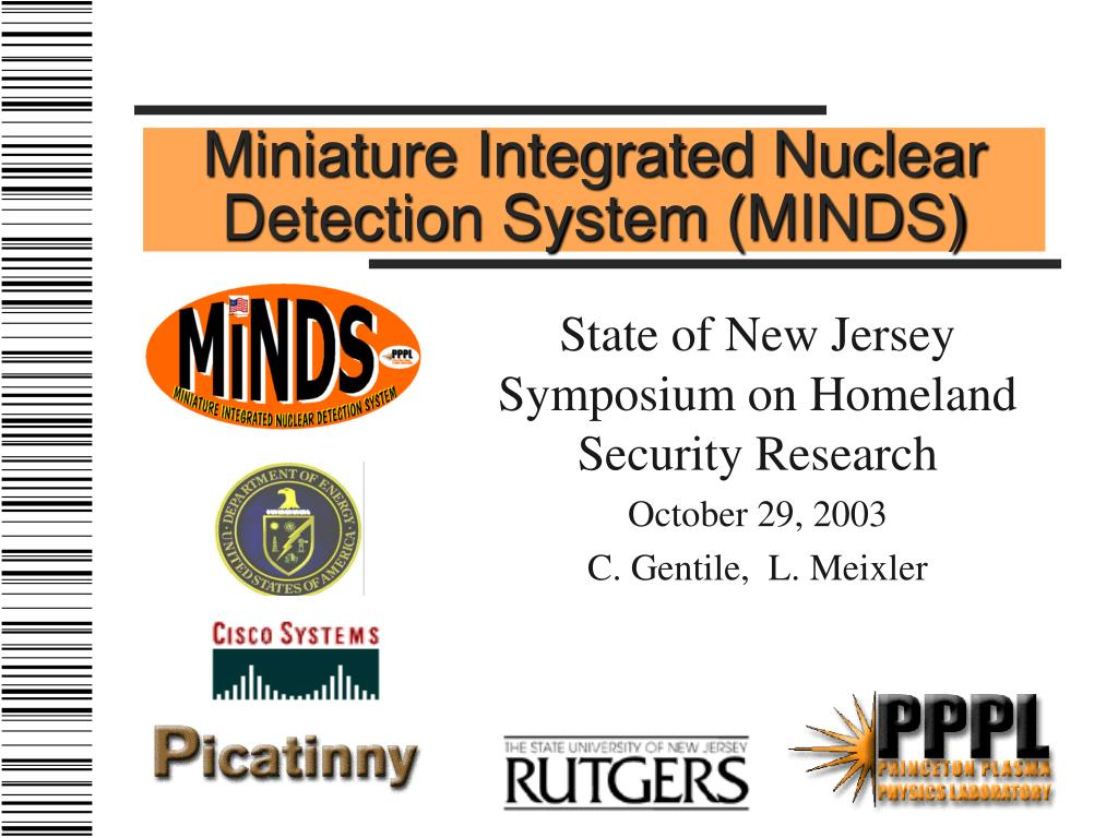 Miniature Integrated Nuclear Detection System (MINDS)
