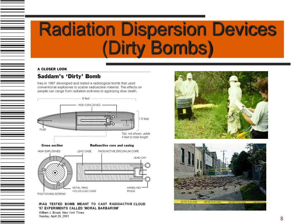 Radiation Dispersion Devices (Dirty Bombs)