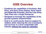 gsie overview